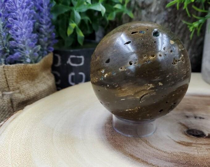 Ocean Jasper Sphere O249