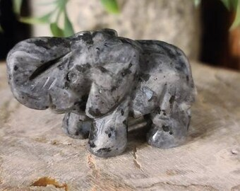 Larvikite Elephant Spirit Animal