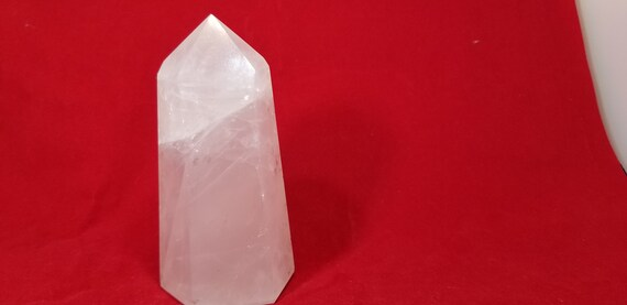 Large Rose Quartz Point, 4.5 In