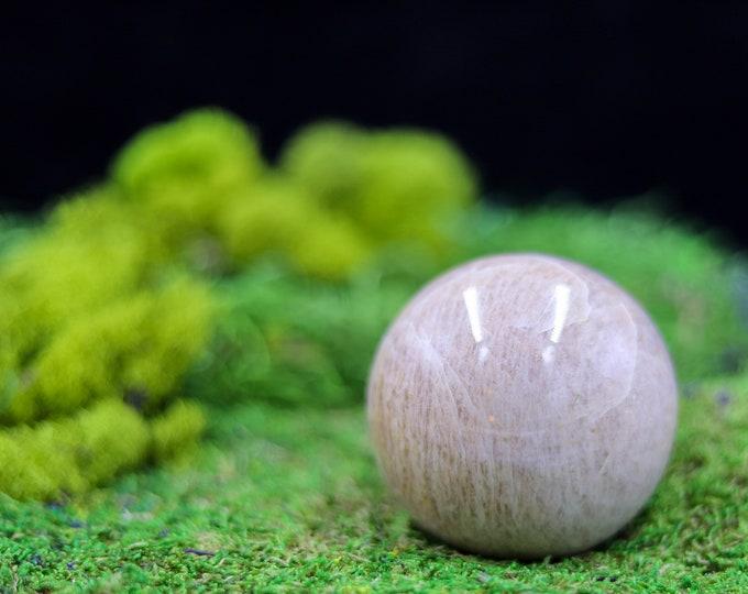 Cream Moonstone Sphere C455