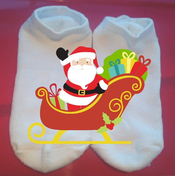 Holiday Socks Merry Christmas Custom Socks Christmas Socks Lucky Socks Gift Socks  ** NOT VINYL **