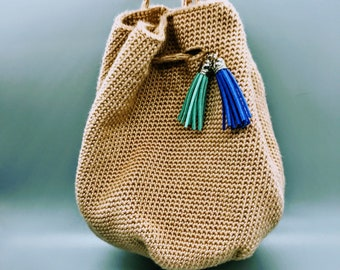 Beachcomber Crocheted Mini-Backpack Pattern
