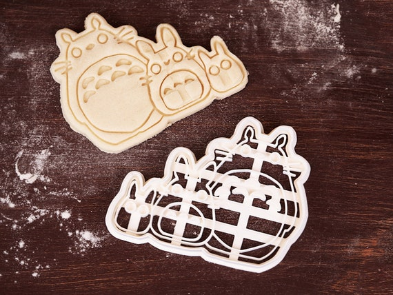 Totoro Characters Dough Cutter