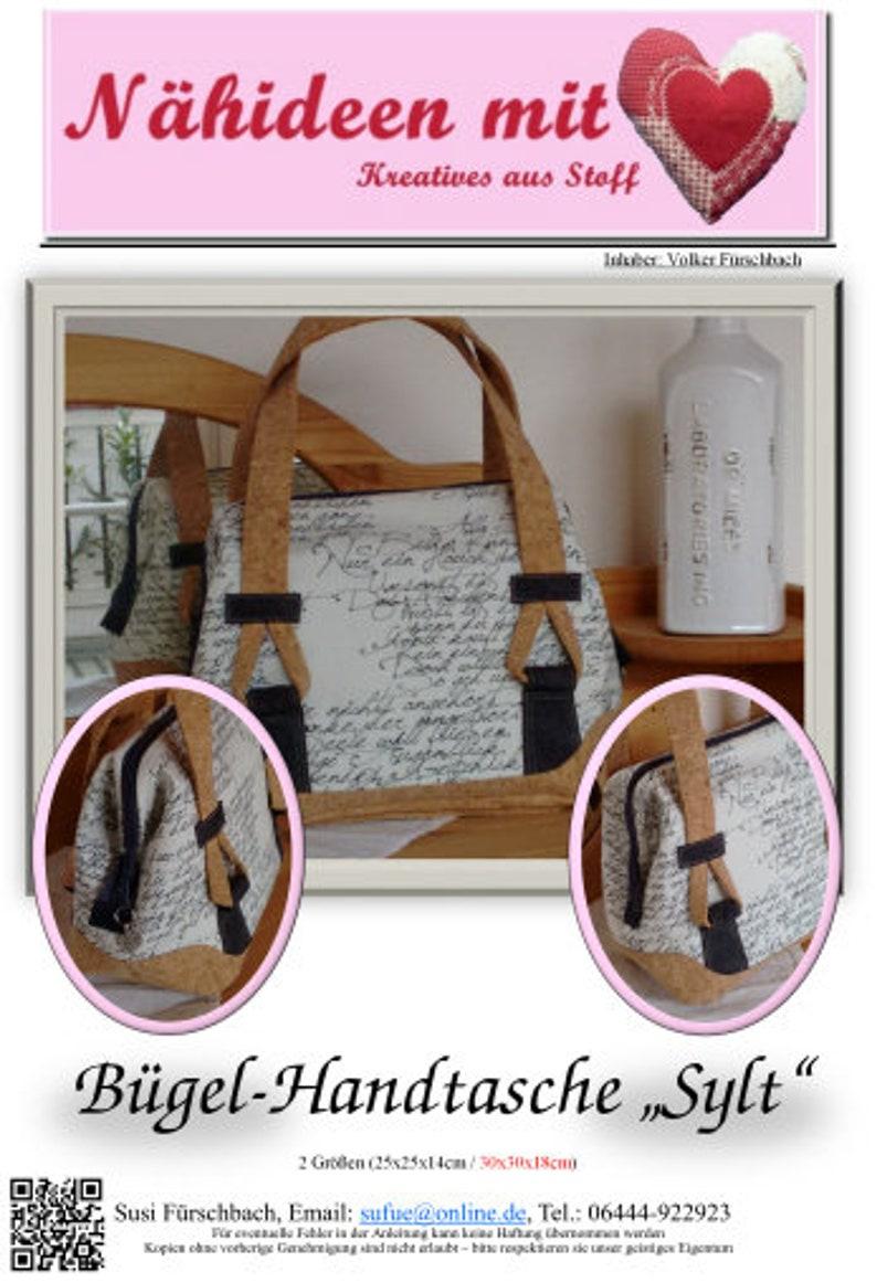 Sylt excl. Iron sewing instructions ironing handbag image 0