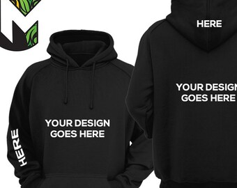 Custom Unisex Hoodie For Men and Women - Personalized Sleeve 6a1dd54441
