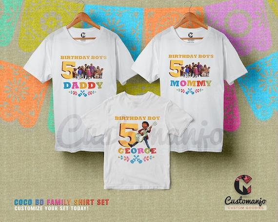 85462c93 COCO Family Birthday Matching Shirts Custom Personalized | Etsy