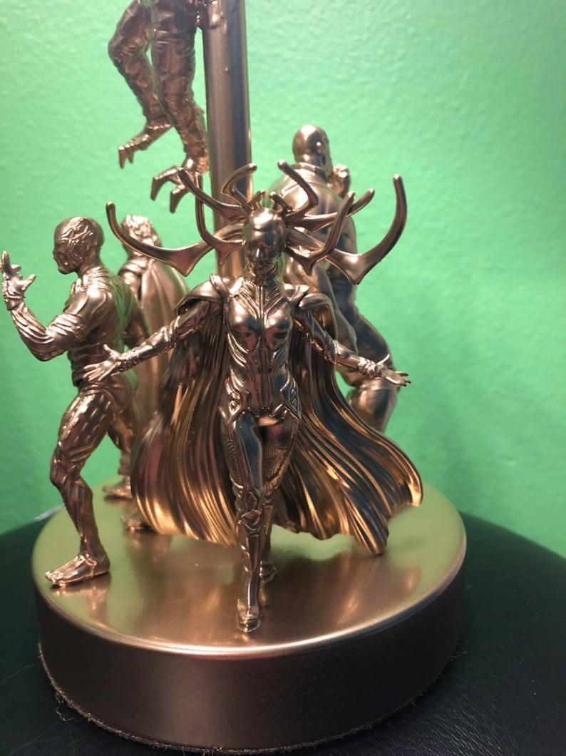 Marvel Comics Villains Table Lamp