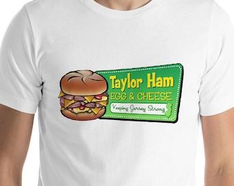 Taylor Ham T-Shirt for Men - Taylor Ham Egg & Cheese - Taylor Ham Shirt - New Jersey Shirt - Gift for Taylor Ham Lovers - Taylor Ham NJ