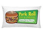 Pork Roll Pillow - Pork Roll Egg & Cheese - NJ Pillow - New Jersey - New Jersey Pillow - NJ Gift