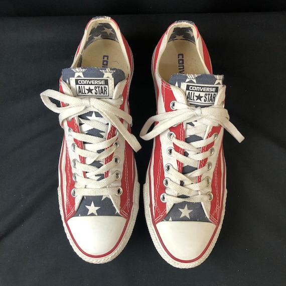 Vintage Chucks Converse All Stars, Low Top, Americ