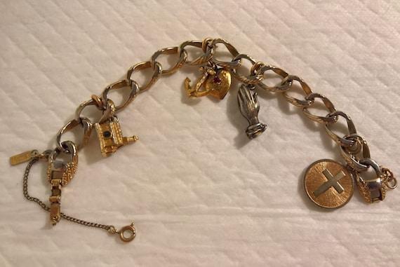 Monet Jewelry: Church Charm Bracelet