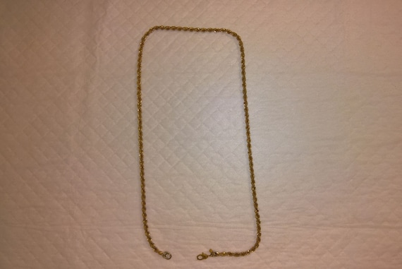 Monet Jewelry: Gold Necklace - image 1