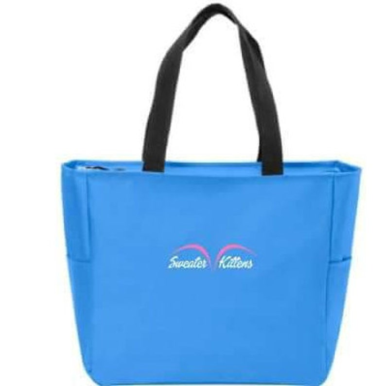 EVERYTHING TOTE TURQUOISE image 0