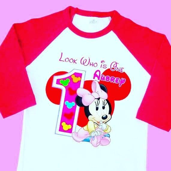 Birthday Shirt Girl Boy T Personalized Custom Toddle