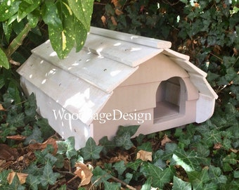 Hedgehog House, Wooden, Hedgehog Pod, Hog Pod, Wildlife, Outdoor, Garden