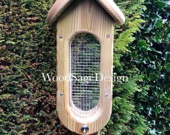 Wooden Bird Feeder, Seeds, Garden Gift, Outdoors, Bird Feeders