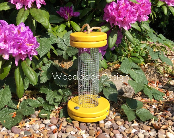 Featured listing image: Bird Seed Feeder, Bird Feeders, Garden Gift