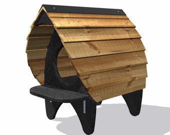 Cat Chalet, Outdoor Cat Furniture, Glamping Pod