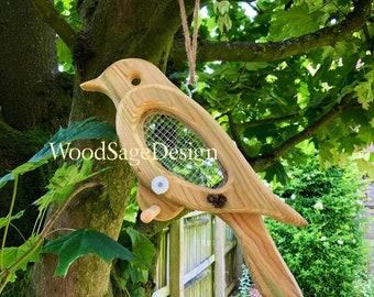 Bird Feeder, Bird Feeders, Garden, Outdoors, Seed, Christmas Gift, Handmade
