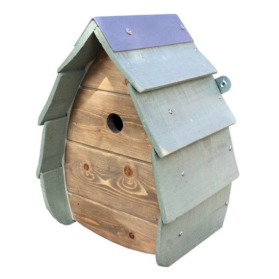 Wooden Outdoor Bird House Birdbox