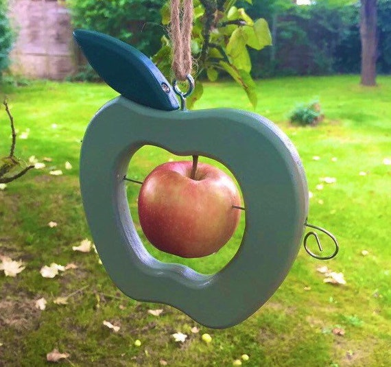 Bird Feeder, Green Apple Feeder