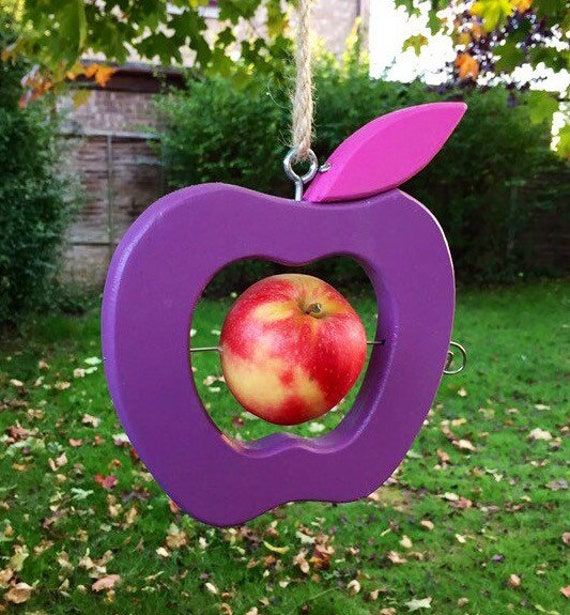 Apple Bird Feeder Purple