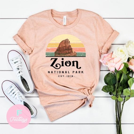 National Park Shirt Zion Shirt Camper Gift Retro Shirt