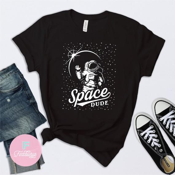 Space Dude Shirt Astronaut Shirt Kids Space Shirt Star Etsy