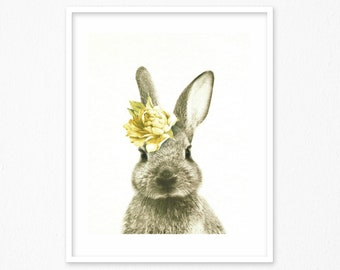 Bunny Decor Nordic Etsy