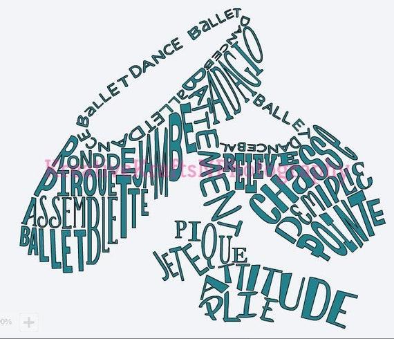Ballet Svg Ballet Dance Ballet Shoes Svg Dance Dance Etsy