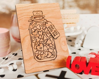 Love Card, Groom Gift from Bride, I Love You,