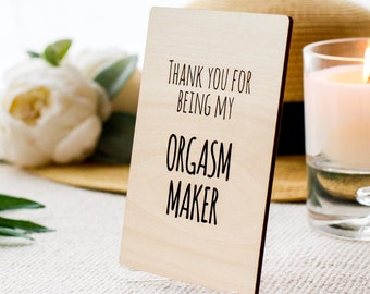 Thanks for all the Orgasms, Inappropriate cards, Funny Cards for Boyfriend,