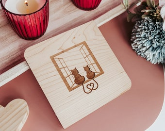 Anniversary Card for Husband, 5th Anniversary Gift for Him, Wood Anniversary,