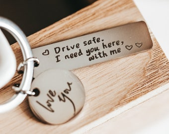 New Driver Gift, Passed Driving Test, Drive Safe Keychain, Learner Driver Gift,