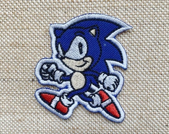 1Sonic-embroidery patch