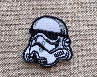 1x Star Wars Patch-Logo Imperial Storm Trooper-Iron on brodé appliqué