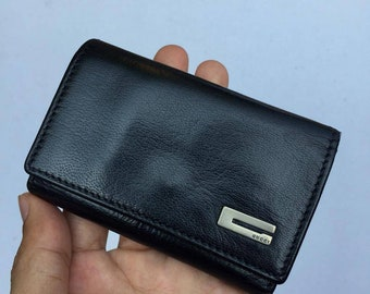 91d7a6015afc Authentic Vintage Leather GUCCI Key Holder made in ITALY