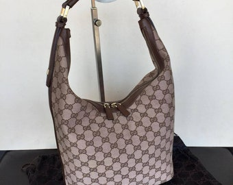 4051f74d6 Authentic Gucci GG Hobo Bag made in ITALY