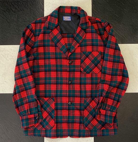 Pendleton Flannel, Classic Outerwear Flannel, Vint