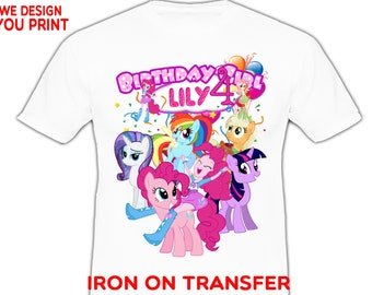My Little Pony Birthday Shirt Rainbow Girl Best Christmas Gifts 2018