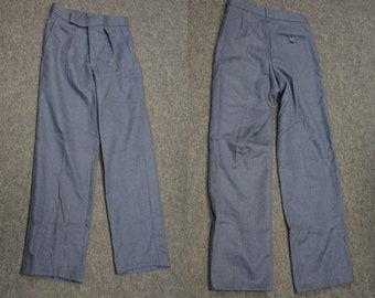 Flight Tracker Royal Air Force Mans Raf Uniform Dress Mens No 1 Oa Navy Trousers Pants British Men's Clothing Militaria