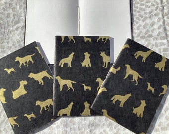 1 Notebook A6 Writing Book HUNDE Diary Loktapapier