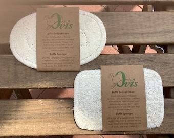 LUFFA soap pillow Luffa soap sponge oval od rectangular