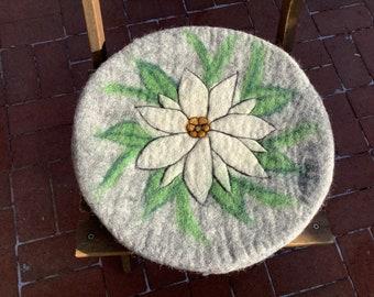 1 seat cushion STUHLAUFLAGE Chair cushion EDELWEISS