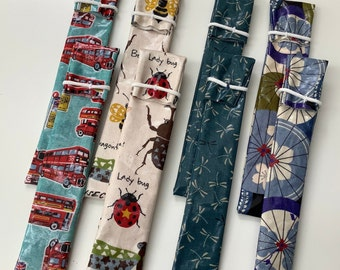 1 toothbrush sleeve TOOTHBRUSH CASE Toothbrush bag instead of can laminated cotton