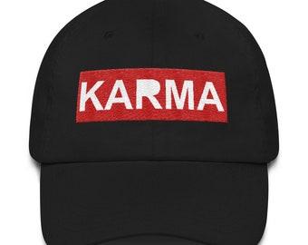 a4a8a3b5926 Adjustable Karma Dad Hat