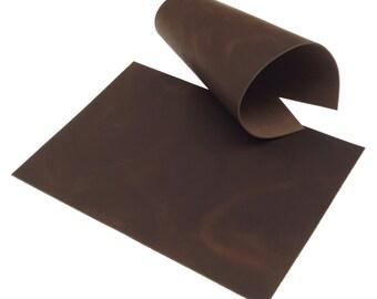 Rindleder Grau Pull-Up Design 2,5 mm A4 Echt Leder Croupon Leather 135