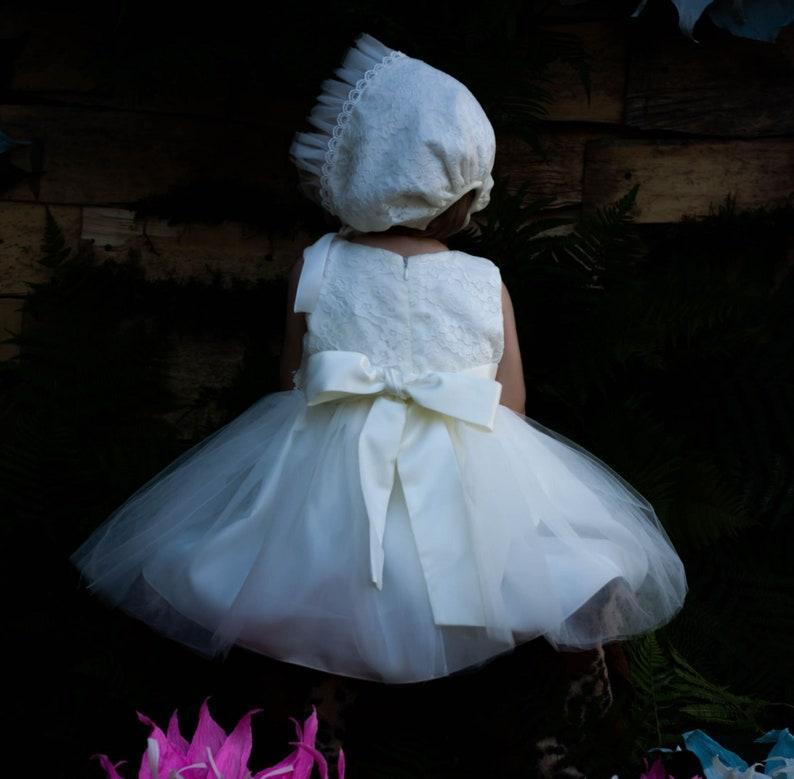 Christening dress Baptism Dress,flower girl dresses for weddings,christening,baptism newborn girl dress white lace dress,baby girl dress