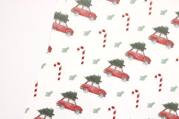 Driving Home For Christmas.3 Set Christmas Wrapping Paper Driving Home For Christmas