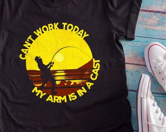 Funny Fishing Shirt Etsy